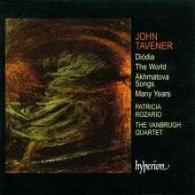 John Tavener (1944-2013): Diodia für Streichquartett, CD