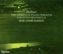 Nikolai Medtner (1880-1951): Sämtliche Klaviersonaten, 4 CDs