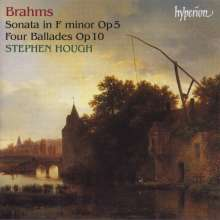 Johannes Brahms (1833-1897): Balladen op.10 Nr.1-4, CD