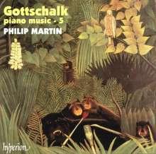 Louis Moreau Gottschalk (1829-1869): Klavierwerke Vol.5, CD