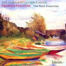 Francis Poulenc (1899-1963): Kammermusik, 2 CDs
