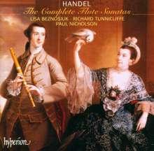 Georg Friedrich Händel (1685-1759): Flötensonaten op.1 Nr.1,1a,5,9, CD
