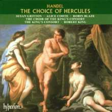 Georg Friedrich Händel (1685-1759): The Choice of Hercules, CD