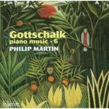 Louis Moreau Gottschalk (1829-1869): Klavierwerke Vol.6, CD