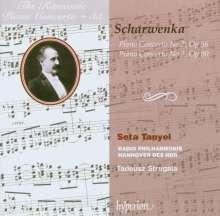 Xaver Scharwenka (1850-1924): Klavierkonzerte Nr.2 & 3, CD