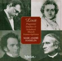 Franz Liszt (1811-1886): Transkriptionen nach Paganini & Schubert, CD