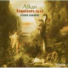 Charles Alkan (1813-1888): Esquisses op.63, CD
