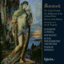 Granville Bantock (1868-1946): The Song of Songs (Ausz.), CD