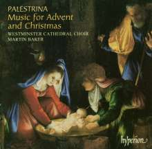 Giovanni Pierluigi da Palestrina (1525-1594): Music for Advent & Christmas, CD