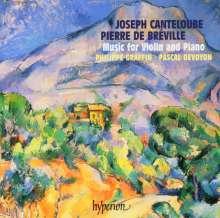 Joseph Canteloube (1879-1957): Dans la Montagne-Suite für Violine & Klavier, CD