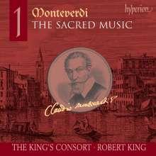 Claudio Monteverdi (1567-1643): Geistliche Musik Vol.1, CD