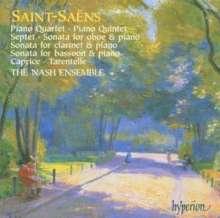 Camille Saint-Saens (1835-1921): Kammermusik, 2 CDs
