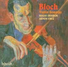 Ernest Bloch (1880-1959): Sonaten f.Violine & Klavier Nr.1 & 2, CD