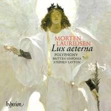 Morten Lauridsen (geb. 1943): Lux Aeterna, CD