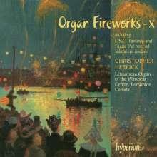 Christopher Herrick - Organ Fireworks 10, CD