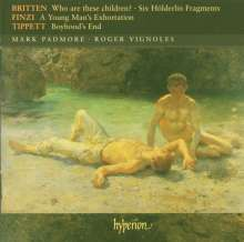 Mark Padmore - Who are these Children?, CD