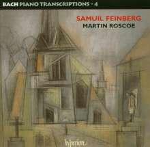 Johann Sebastian Bach (1685-1750): Transkriptionen für Klavier Vol.4 (Samuel Feinberg), 2 CDs