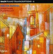 Johann Sebastian Bach (1685-1750): Transkriptionen für Klavier Vol.6 (Walter Rummel), 2 CDs