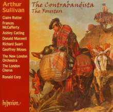 Arthur Sullivan (1842-1900): The Contrabandista (or The Law of the Ladrones), CD