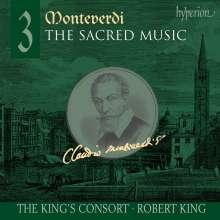 Claudio Monteverdi (1567-1643): Geistliche Musik Vol.3, CD