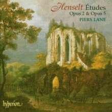 Adolph Henselt (1814-1889): Etüden für Klavier, CD