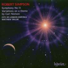Robert Simpson (1921-1997): Symphonie Nr.11, CD