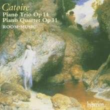 Georges Catoire (1861-1926): Klavierquartett op.31, CD