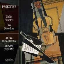 Serge Prokofieff (1891-1953): Sonaten für Violine & Klavier Nr.1 & 2, CD