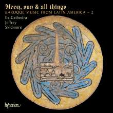 Ex Cathedra - Moon, sun & all things, CD