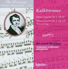Friedrich Kalkbrenner (1785-1849): Klavierkonzerte Nr.1 & 4 (d-moll op.61 & As-Dur op.147), CD