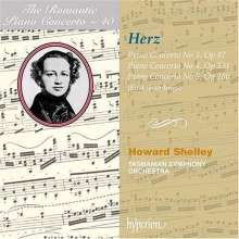 Henri Herz (1803-1888): Klavierkonzerte Nr.3-5, CD