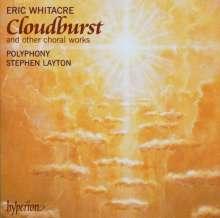 Eric Whitacre (geb. 1970): Cloudburst, CD