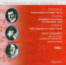 Eugen D'Albert (1864-1932): Cellokonzert C-dur op.20, CD