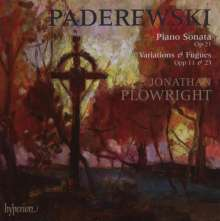 Ignaz Paderewski (1860-1941): Klaviersonate op.21, CD