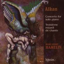 Charles Alkan (1813-1888): Concerto for Piano Solo (op.39 Nr.8-10), CD