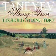 Serge Tanejew (1856-1915): Streichtrios, CD