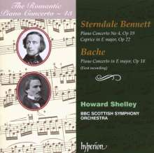 Francis Edward Bache (1833-1858): Klavierkonzert E-Dur op.18, CD