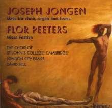 """Joseph Jongen (1873-1953): Messe op.130 """"En l'Honneur du Saint-Sacrement"""", CD"""