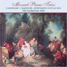 Wolfgang Amadeus Mozart (1756-1791): Klaviertrios Nr.1 & 4 (KV 496 & 548), CD