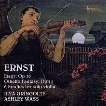 Heinrich Wilhelm Ernst (1814-1865): 6 Mehrstimmige Etüden für Violine solo, CD