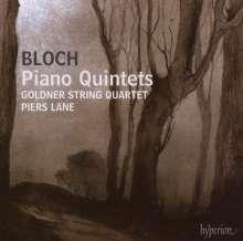Ernest Bloch (1880-1959): Klavierquintette Nr.1 & 2, CD