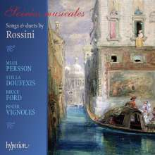 Gioacchino Rossini (1792-1868): Lieder & Duette, CD