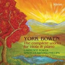 York Bowen (1884-1961): Sämtliche Werke für Viola & Klavier, 2 CDs