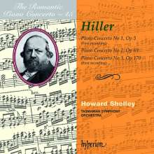 Ferdinand Hiller (1811-1885): Klavierkonzerte Nr.1-3, CD