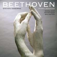 Ludwig van Beethoven (1770-1827): Klaviersonaten Nr.8,14,21,25, CD