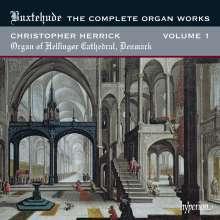 Dieterich Buxtehude (1637-1707): Sämtliche Orgelwerke Vol.1, CD