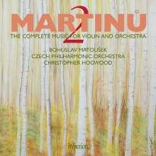 Bohuslav Martinu (1890-1959): Sämtliche Werke für Violine & Orchester Vol.2, CD