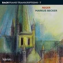 Johann Sebastian Bach (1685-1750): Transkriptionen für Klavier Vol.7 (Max Reger), 2 CDs