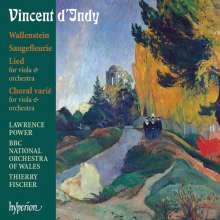 Vincent d'Indy (1851-1931): Wallenstein op.12, CD