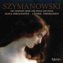Karol Szymanowski (1882-1937): Werke für Violine & Klavier, CD